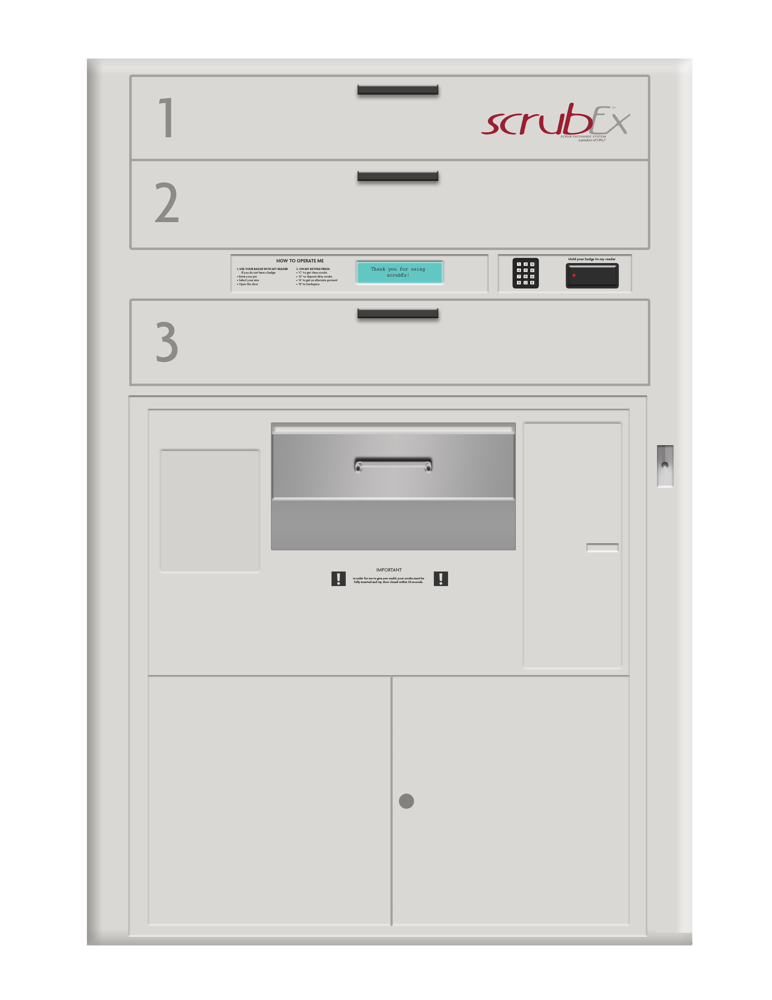 scrubex machine
